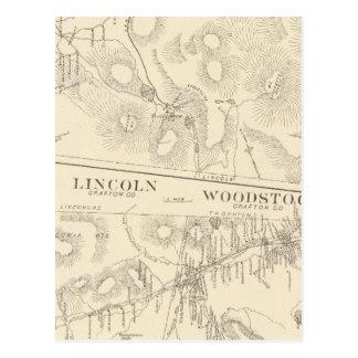 Franconia, Lincoln, Woodstock Postcard