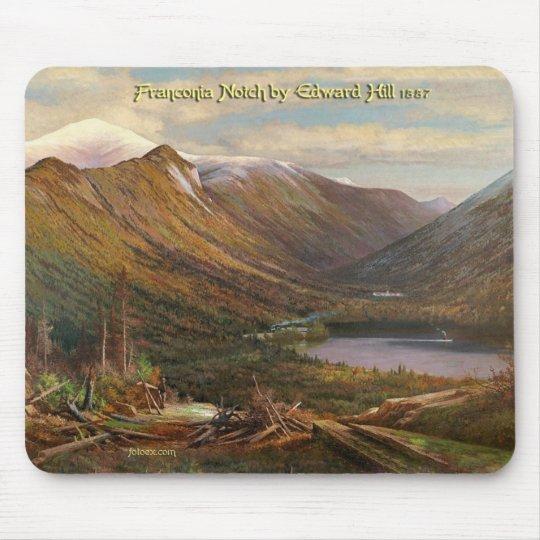 Franconia Notch by Edward Hill, 1887 Mouse Mat