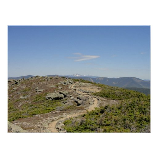 Franconia Ridge Trail, New Hampshire Poster