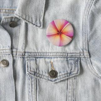 Frangipane Flower Badge