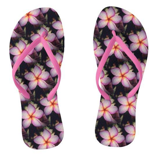 Frangipane Flowers flip Flops