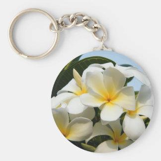 Frangipani Bliss Key Chain