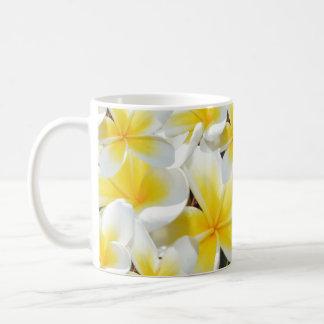 Frangipani_Bouquet,_White_Coffee_Mug. Basic White Mug