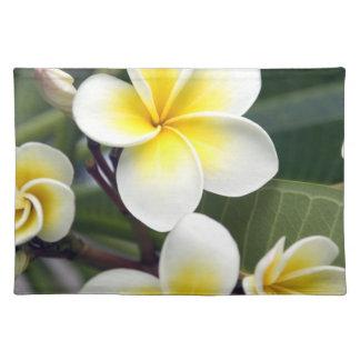 Frangipani flower Cook Islands Placemat