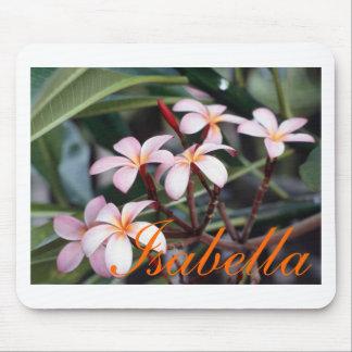 Frangipani Flowers, Isabella, Isabella Mouse Pad