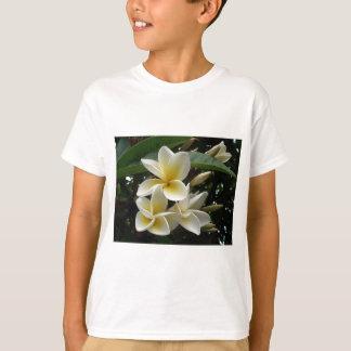 Frangipani Tree Blossoms Destiny Peace Love Flora T-Shirt