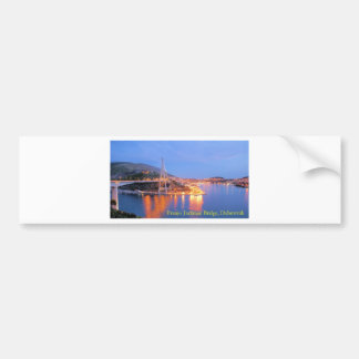 Franjo Tudjman Bridge 1 Bumper Sticker