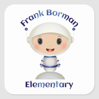 Frank Borman Elementary Astronaut Name Image Stickers