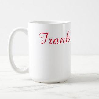 Frank Customized 15 oz Classic White Mug