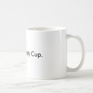 Frank... Empty Cup. Basic White Mug