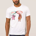 Frank .. is that you ? undercover dog BBQ Lovers Tee Shirts
