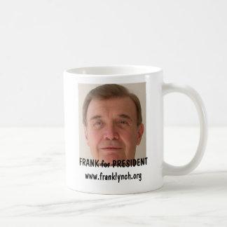 FRANK LYNCH for PRESIDENT Basic White Mug
