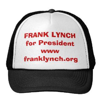 FRANK LYNCH for President HAT