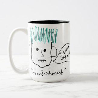 Frank-N-Honest Two-Tone Mug