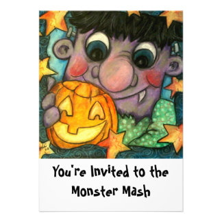 Frank n Jack You re Invited to the Monster Mash Announcement