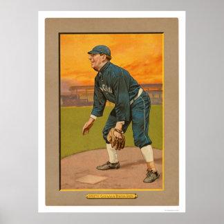 Frank Smith White Sox Baseball 1911 Poster