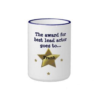 FRANK: The Award For Best Lead Actor Ringer Mug