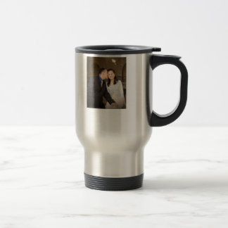 Frank & Vivian wedding travel mug
