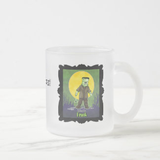 Frank Zombie Frosted Glass Mug