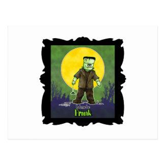 Frank Zombie Postcard