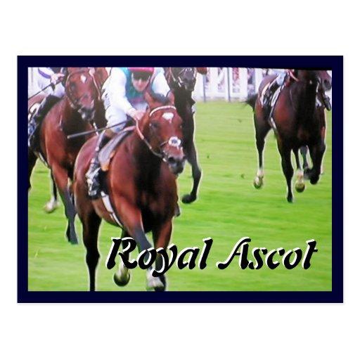 Frankel at Royal Ascot Diamond Jubilee postcard