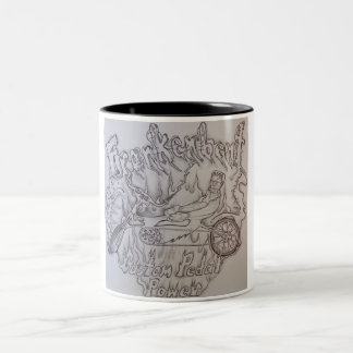 Frankenbent freehand logo artwork coffee mug!