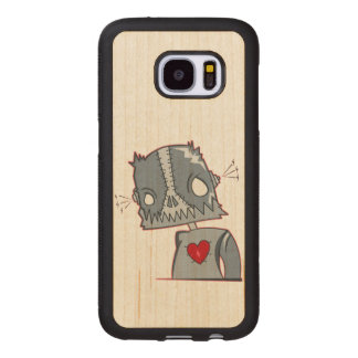 Frankenbot Illustration Wood Samsung Galaxy S7 Case