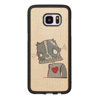 Frankenbot Illustration Wood Samsung Galaxy S7 Edge Case