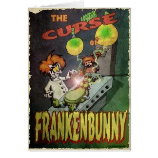 Frankenbunny Card