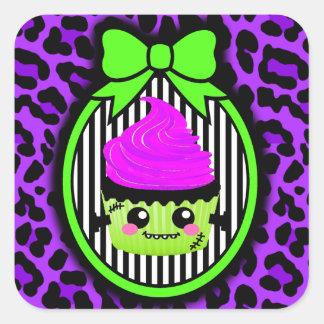 FrankenCake Square Sticker