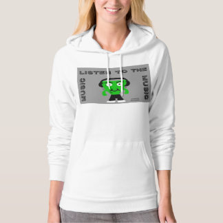 FrankenCheese Listen To The Music Women's Hoodie