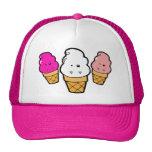 Frankencream Monster Ice Cream Cones Mesh Hat