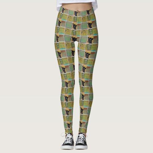 Frankenkitty leggings