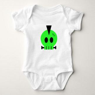 Frankenskull Baby Bodysuit