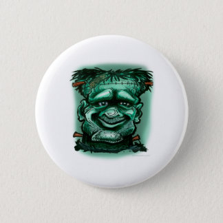 Frankenstein 6 Cm Round Badge