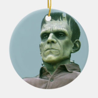 Frankenstein and Azure Skies - Photograph Round Ceramic Decoration