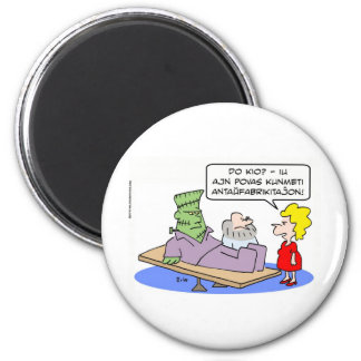 frankenstein big deal build prefab esperanto 6 cm round magnet