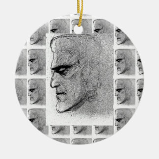 FRANKENSTEIN BW ORNAMENT