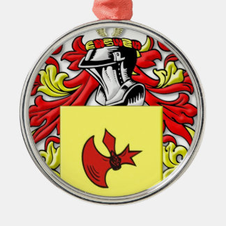 Frankenstein Coat of Arms Silver-Colored Round Decoration
