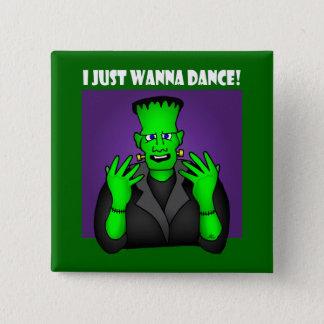 FRANKENSTEIN DANCE-1 15 CM SQUARE BADGE