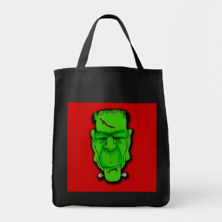Frankenstein Face Caption it Yourself!  T shirts Tote Bag