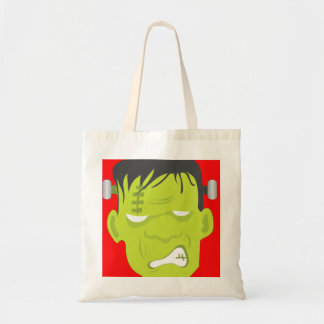Frankenstein Face Tote Bag