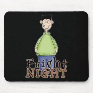 Frankenstein Fright Night Halloween Mouse Pads
