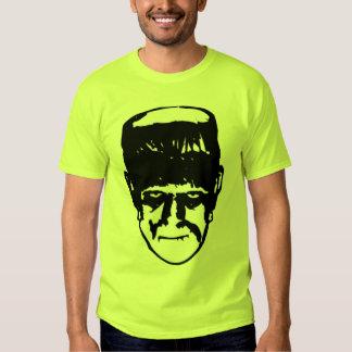 Frankenstein Green Halloween Shirt