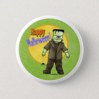 Frankenstein Halloween 6 Cm Round Badge
