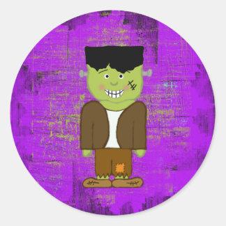 Frankenstein Halloween Envelope Seals