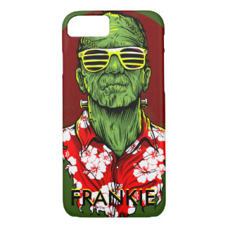 frankenstein halloween monster vacation phone case