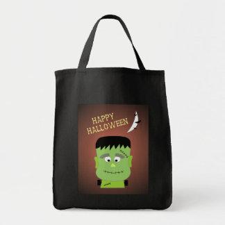 Frankenstein Halloween Tote Bag