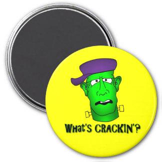 Frankenstein Keychains & Flair 7.5 Cm Round Magnet