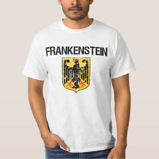 Frankenstein Last Name T-shirts